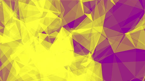 Triangles Background Yellow+Magneta stock footage