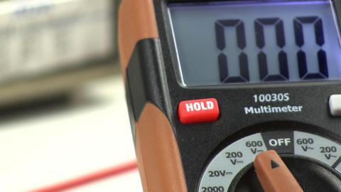 Adjusting DVM meter Footage