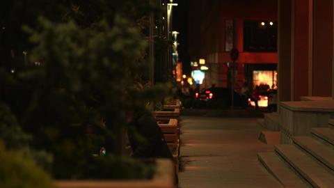 City Nightlife Footage