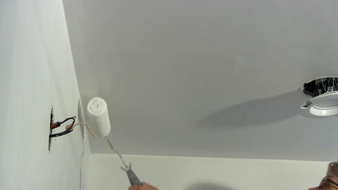 Ceiling paint Footage