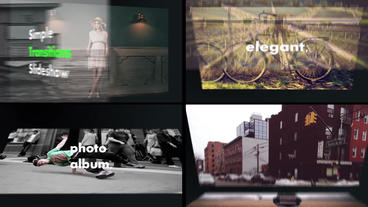 Transitions Slideshow After Effects Template