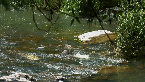 Rocky River stock footage