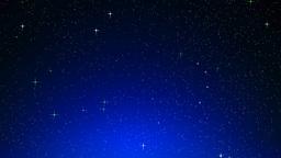 Simulated stars Animation