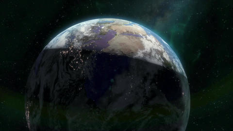 Beautiful Earth Sunrise Stock Video Footage