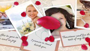 Wedding Rose After Effects Template