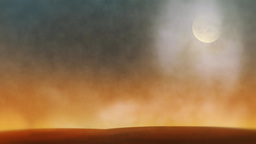 Desert Sunset Motion Backgrounds 1 stock footage