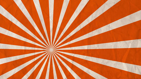 Background rotating rays Orange Animation