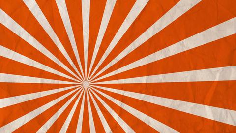 Background rotating rays Orange Animation