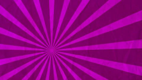 Background rotating rays Pink Animation