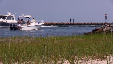 Boating lifestyle Footage