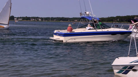 Boating 2 Footage