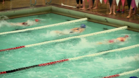 Girls swim team 24 Footage