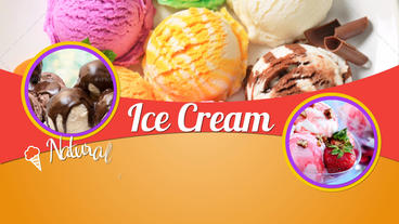 Ice Cream Factory After Effects Project