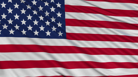 USA Flag BIG Loop stock footage