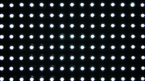 1080p Turning on and Off LED Panel Footage