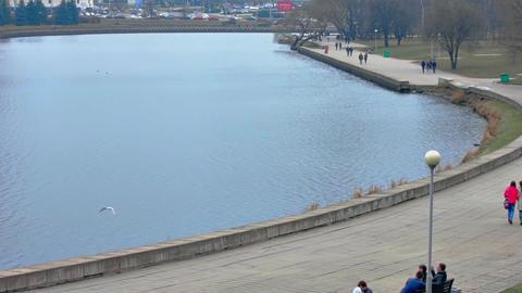 1080p Minsk Establishing Shot Footage