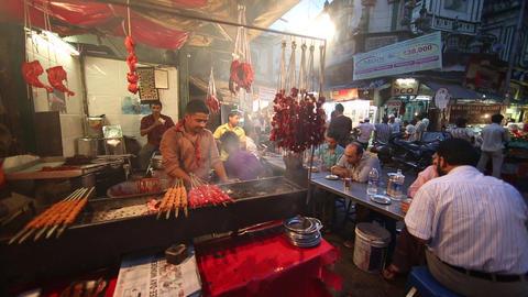 Indian Street Food - Mumbai Footage
