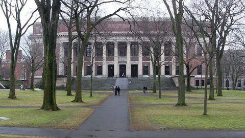 Harvard Library Footage