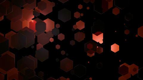 hot hexagonal lights Animation