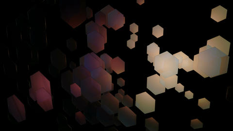 glowing hexagonal movement Animation