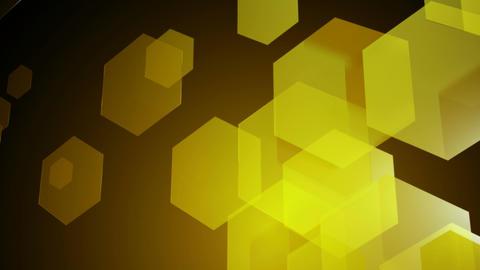 yellow hexagonal animation Animation