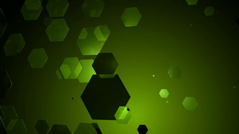 greenish hexagonal movement Animation