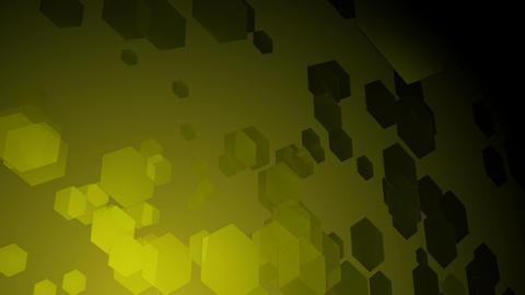 greenish hexa space Animation
