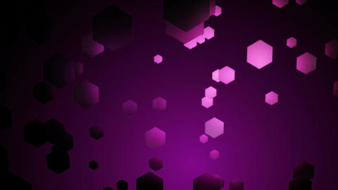 violet hexagonal space Animation