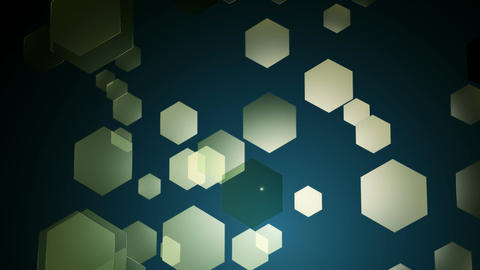 hue moving hexagons Animation