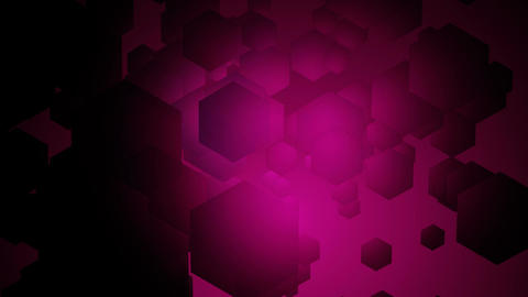 hexa pink wave Animation