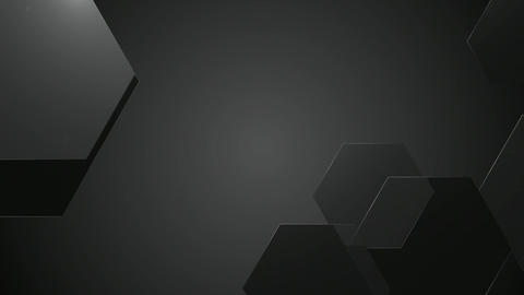 greycale hexagons pattern Animation