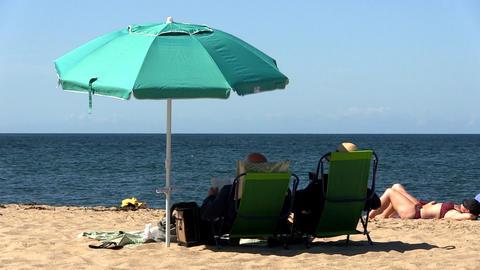 Beach view Footage