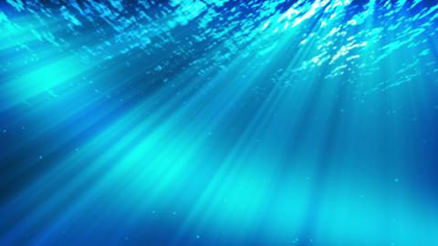 A Beautiful Underwater Scene Animation