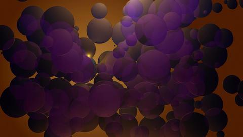 violet spotlights circles Animation