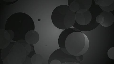 monochrome color circles Animation