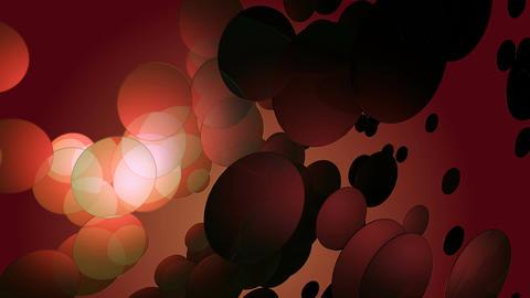 glowing circular reddish Animation