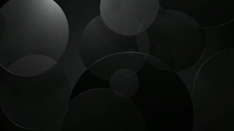 greyscale glossy circle Animation