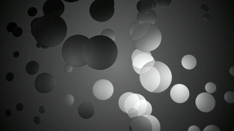 grayscale circular space Animation