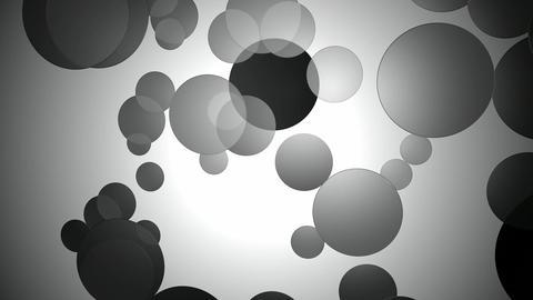 monocrhome moving circle Animation