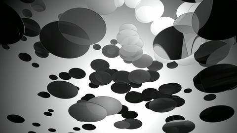 black glow circle Animation
