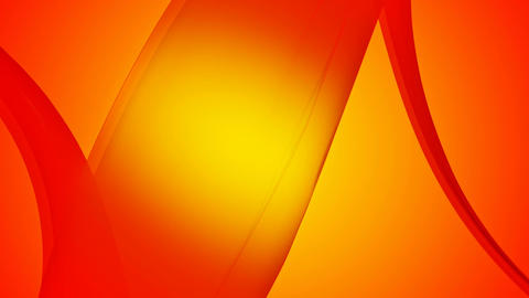 spotted orange ribbon Animation