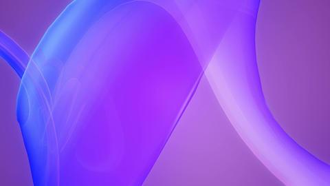 purple curve band Animation