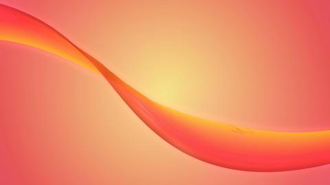 soft pink ribbon Animation