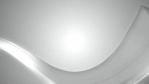 soft white wave Animation