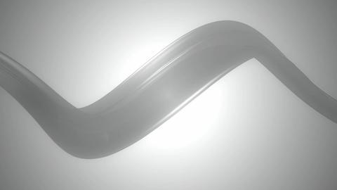 soft gray ribbon Animation