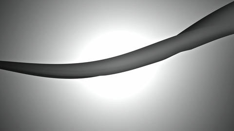 grey ribbon pulse Animation