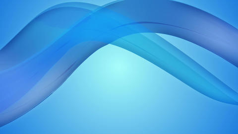 bluish ribbon flowing Animation