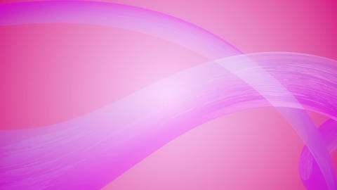 pink silk ribbon Animation