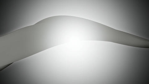 foggy greyscale ribbon Animation