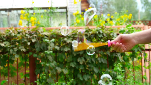 Soap bubble Footage